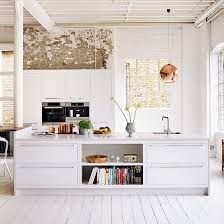 inspiration white painted floor boards design