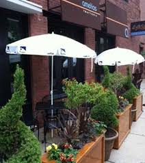 Patio Fence Ideas Restaurant Patio Fence Rheumri Com