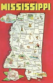 Mississippi travel state images 145 best state postcards images large letters jpg