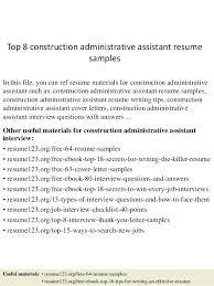 real estate administrative assistant resume sample cover letter