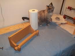 dag wood shop notes a paper towel holder