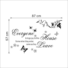 Home Joys by Aliexpress Com Buy Home Decor Bring Joys To This House Vinyl
