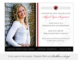 Graduation Invite Cards Lakeville North High Graduation Invitations And