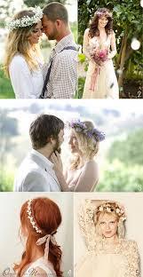 fleurs cheveux mariage couronne de fleurs mariage
