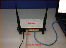Modem Internet Light Blinking How To Setup The Router For Dhcp Internet Connection Mode Tenda
