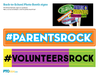 photo booth signs back to school photo booth signs pto today