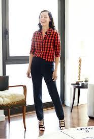 20 new ways to wear a plaid shirt u2013 closetful of clothes