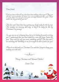 kids letters to santa enjoy christmas with santa claus at the