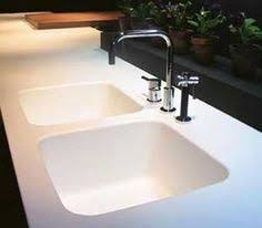 corian kitchen sink corian white drainer grooves integrated sink