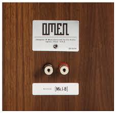 Zu Audio Omen Bookshelf конструктивно музыкальное уравнение акустические системы Zu Audio