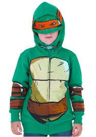 juvenile tmnt costume hoodie