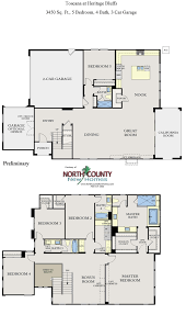 toscana new homes in san diego floor plans