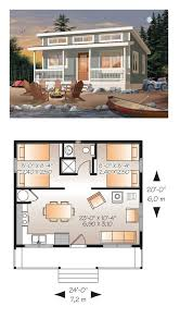 micro cottage floor plans floor plan chalet house basement one large story affordable open