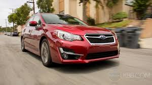 subaru legacy 2016 red 2016 subaru impreza review and road test youtube
