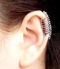 ear cuff piercing dinosaur fossil skeleton ear cuffs no piercing lilyfair jewelry