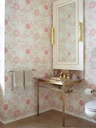 Wallpaper Ideas For Small Bathroom Undermount Bathroom Sinks Hgtv