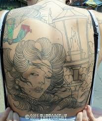 tattoosday a tattoo blog kathy u0027s back the beginning