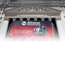 allison transmission investors corporate profile