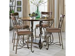 Standard Kitchen Counter Height by Standard Furniture Bombay Round Counter Height Table And Chair Set