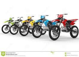 motocross bikes images row of motocross bikes stock illustration image 59008202