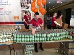bank of america hosts 3 day thanksgiving food bank 2 go food