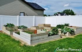 raised garden bed ideas home outdoor decoration
