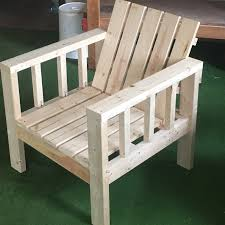 Plans For Wooden Outdoor Chairs by Fabulous Outdoor Furniture You Can Build With 2x4s The Cottage