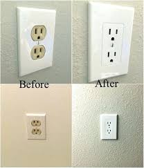 Outlet Covers Easy Electrical Outlet Cover Tip To Fix Mismatched