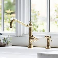 antique brass kitchen faucet brass antique kitchen faucet design ideas