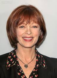 frances fisher rejuvenating bob hairstyle for a 60 plus woman