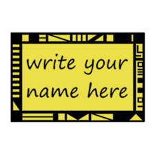 Student Desk Name Tags by Name Tags