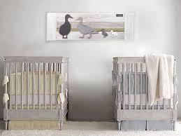 duck twin nursery wall art nursery room decor for twins or