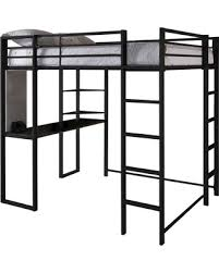 don u0027t miss this deal abode metal loft bed full black dorel