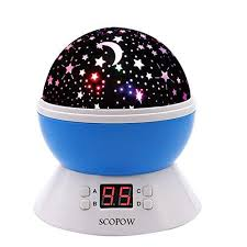 kids night light with timer scopow colorful constellation star sky kids night l with led