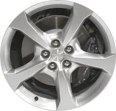 camaro 2013 wheels aly5579u77 hypv1 chevrolet camaro wheel bright hyper 9599040