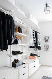 walk in closet dressing room ikea stolmen ankleidezimmer