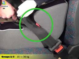 Siege Auto Renolux - renolux installation du siège auto rehausseur groupe 2 3 jet