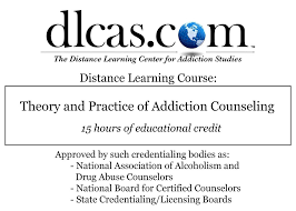 Addiction Counseling Theory And Practice Theory And Practice Of Addiction Counseling 15 Hours Dlc Llc
