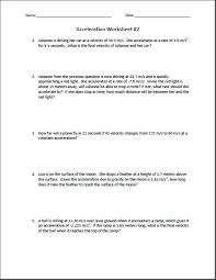 Speed Velocity And Acceleration Calculations Worksheet Answers Calculating Acceleration Worksheet Worksheets Reviewrevitol Free