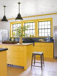 yellow kitchen cabinet colored kitchen cabinets inspiration the inspired room