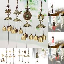 feng shui bell wind chime chinese lucky fortune car hanging