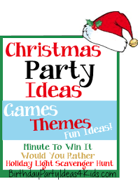 Christmas Party For Kids Ideas - christmas party ideas christmas party games activities themes