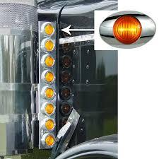 peterbilt air cleaner lights peterbilt lights peterbilt 15 inch preminum donaldson front air