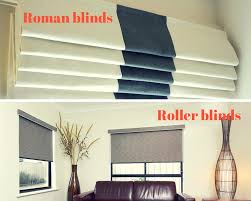 Window Blinds Different Types Roman Blinds Vs Roller Blinds Mcelwaines
