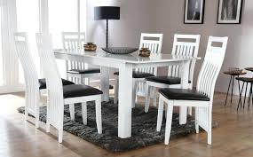 white dining room table extendable white dining lostconvos com