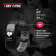 heart healthy bracelet images Veryfitek v2 smart fitness bracelet ip68 waterproof blood pressure jpg