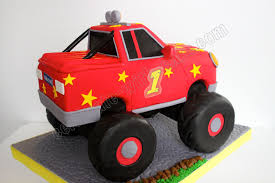 childrens monster truck videos cakes celebrate with cake monster truck cake