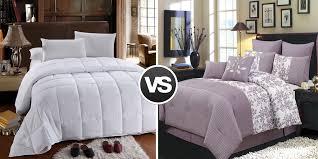 How To Choose A Down Comforter Duvet Vs Comforter Understand U0026 Decide Wholesale Beddings