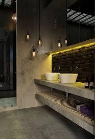 industrial bathroom design industrial bathroom design lights decoration