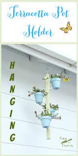 hanging terracotta pot holder